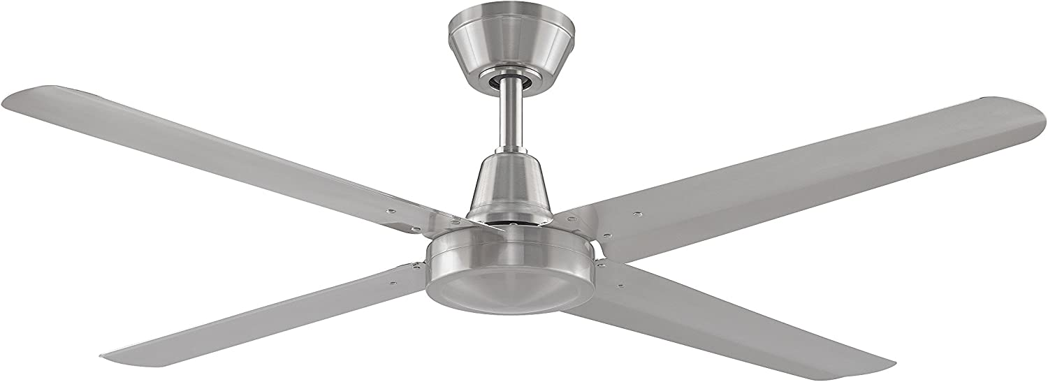 Fanimation Ascension - 54 inch - Brushed Nickel with Brushed Nickel Blades and Wall Control - 220V - FP6717BN-220