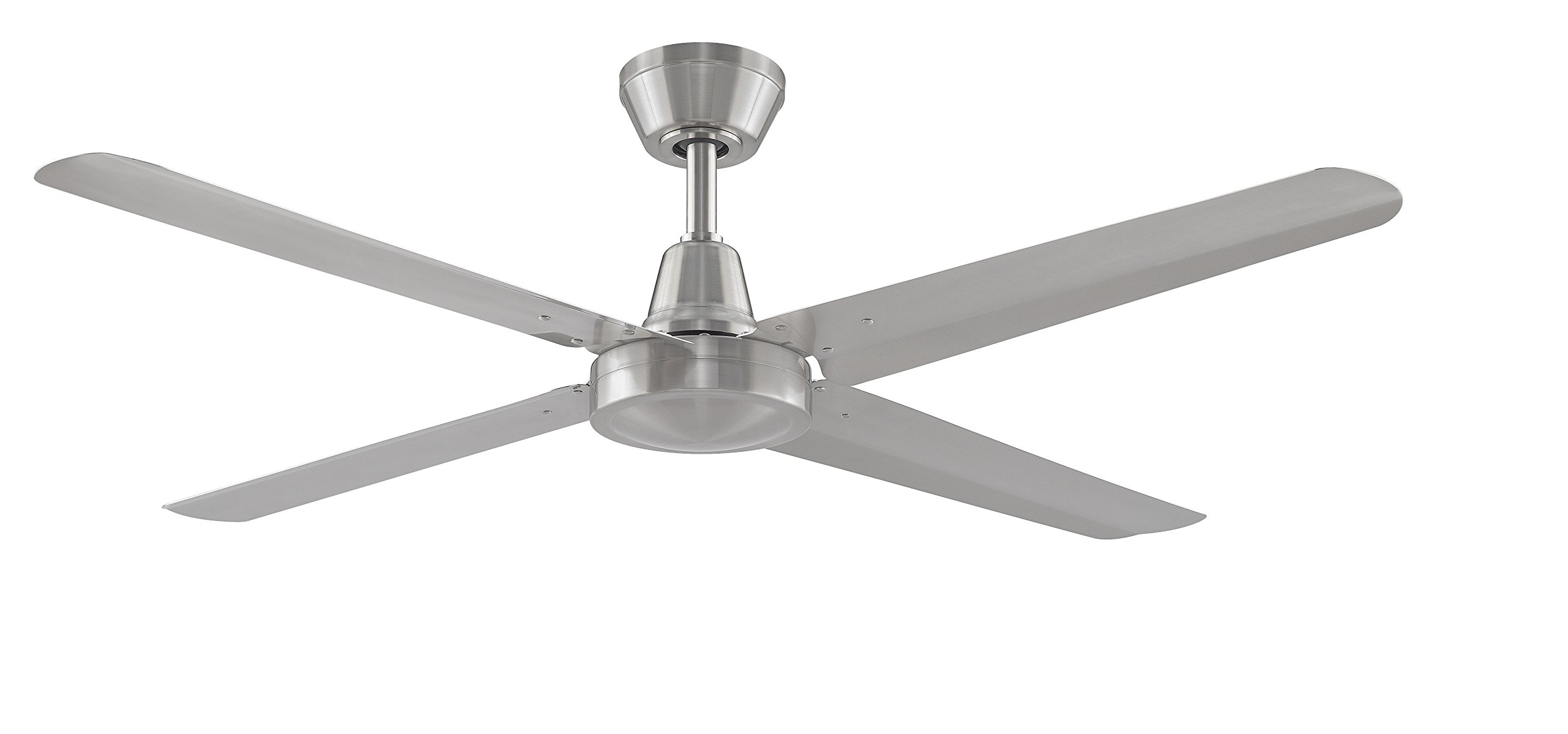 Fanimation Ascension - 54 inch - Brushed Nickel with Brushed Nickel Blades and Wall Control - FP6717BN