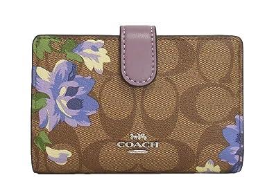 sale retailer 27f01 a8b78 Amazon | [コーチ] COACH レディース 二つ折り コンパクト財布 ...