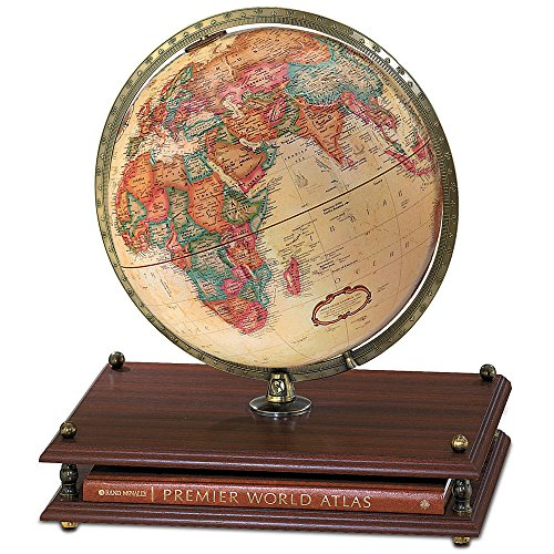 Replogle Globes Premier Globe, Antique Ocean, 12-Inch Diameter by Replogle