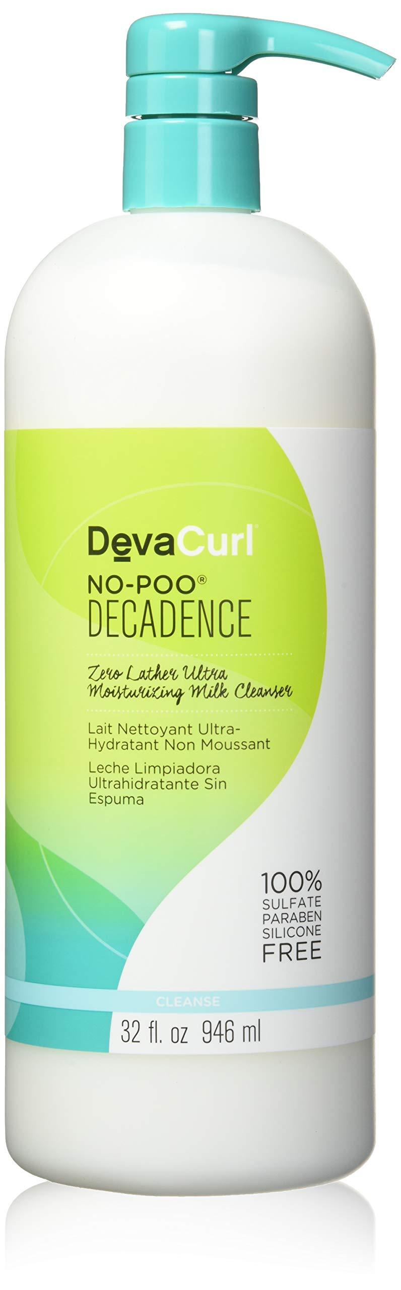 Devacurl No-Poo Decadence Milk Cleanser, 32oz by DevaCurl