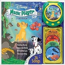 Disney Music Player Storybook: Sarah Heller: 9780794411657