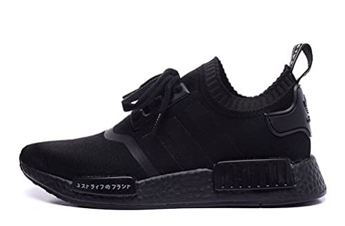 release info on save off outlet for sale Adidas NMD R1 Runner Primeknit PK Boost S81846 Triple Black ...