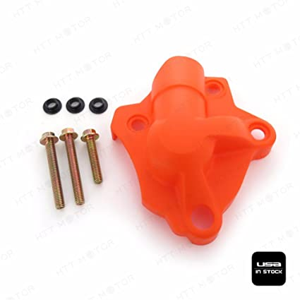 Amazon.com: Orange Water Pump Cover Protector Fit KTM 250 EXC-F 350 XCF-W SIX DAYS 2014-2016: Automotive