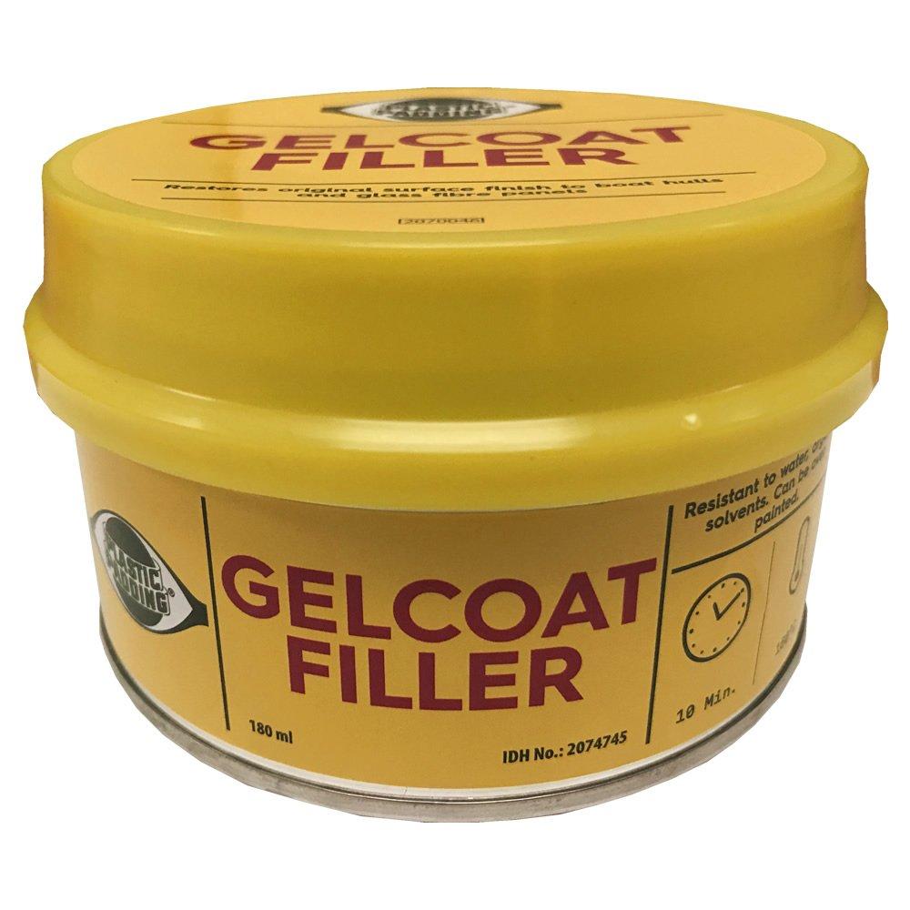 Plástico Acolchado Gelcoat Filler 180ml lata. Fibra de vidrio GRP reparaciones: Amazon.es: Deportes y aire libre