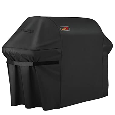 VicTsing BBQ Cover,72 inch Barbeque Grill Cover,600D Heavy Duty Fits Genesis II 6 Burner Grill & Most Brands of BBQ Grill Cover Waterproof Durable(UV/Dust/Water Resistant,Weather/Rip Resistant)