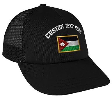 Custom Text Embroidered Jordan Unisex Adult Snaps Cotton Low Crown Mesh  Golf Snapback Hat Cap - b175d0e403