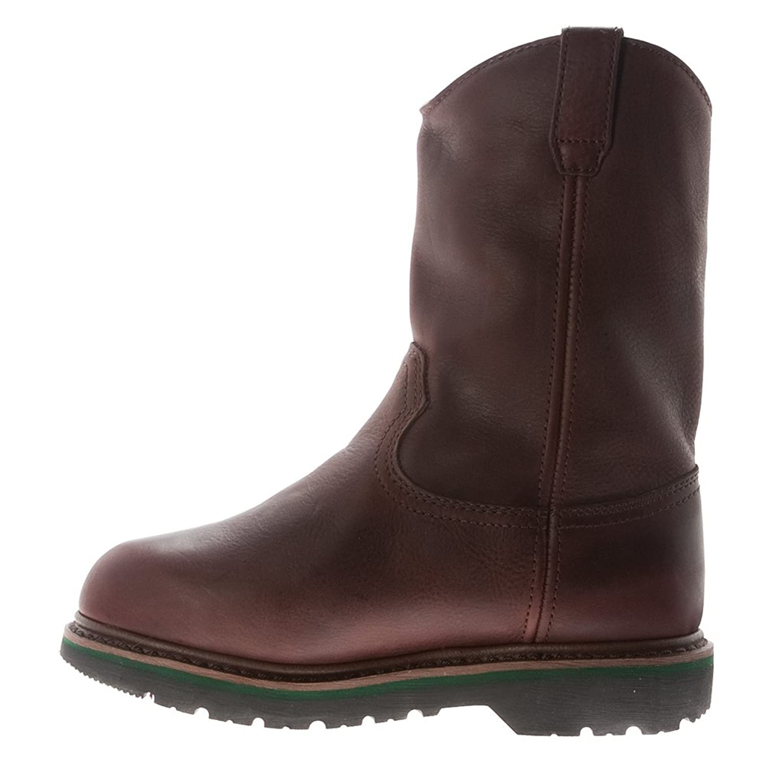 52ab63fc5e3 Amazon.com | John Deere Steel Toe Met Guard Men's Leather Boots ...