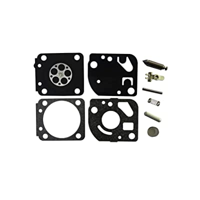 Carburetor Repair/Rebuild Kit Replaces ZAMA RB-197 for ZAMA C1U-K82: Garden & Outdoor