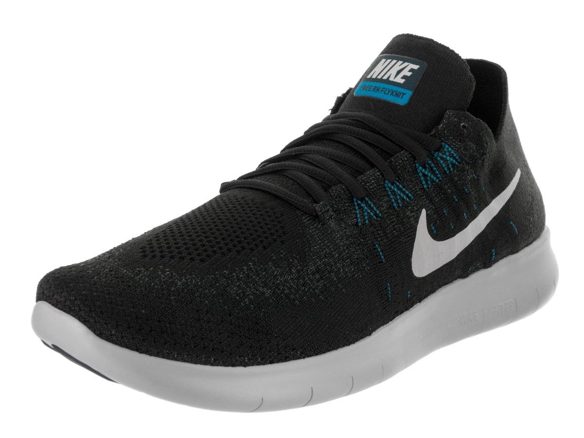 Nike Herren Free Rn Flyknit 2017 Traillaufschuhe, 38 EU  46 EU|Black/Off White/Anthracite