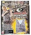 Boys Mossy Oak Kids Hunting Vest On Sized Fits Most