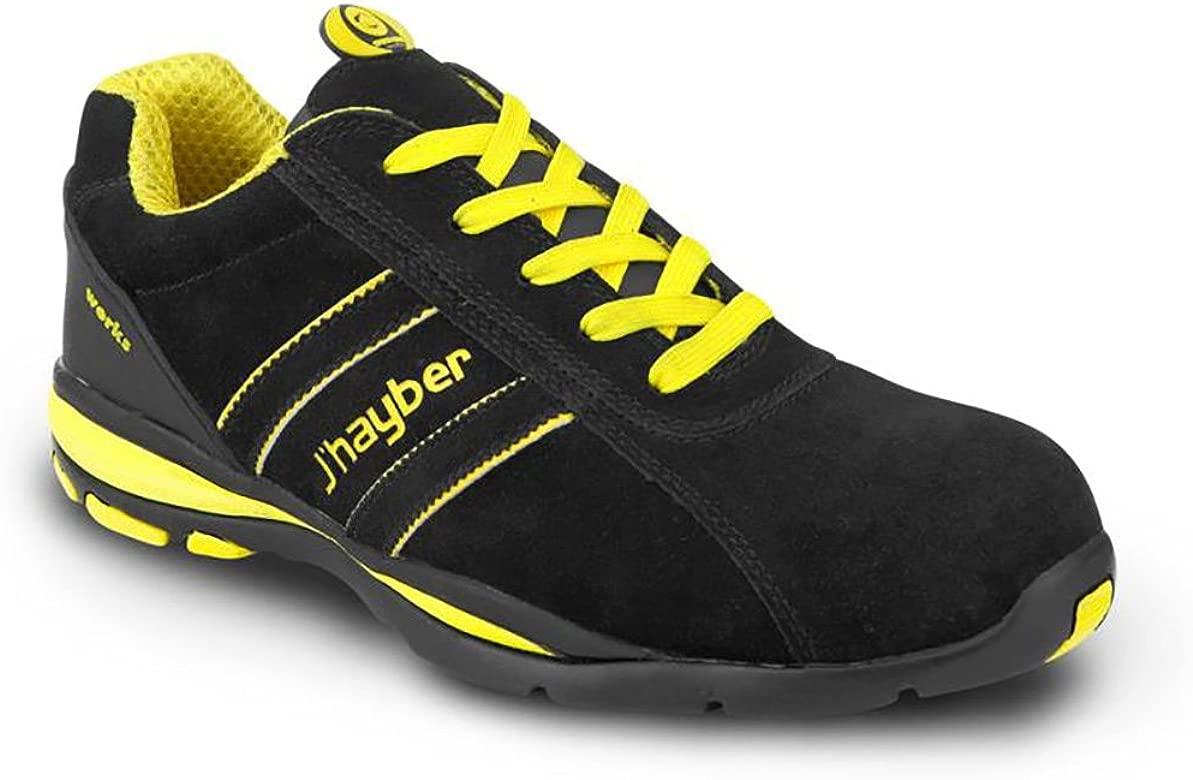 Multicolor JHayber 3200100015 Bolt S1P HRO SRC ESD-Zapatillas Deportivas De Protecci/ón-Negro-Talla 43