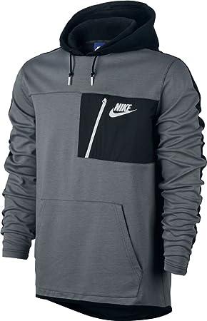 Grey Gris Flc Sudadera Nike Po Nsw Av15 M cool Hombre Hoodie xXxP8qvwS f9f728684a973