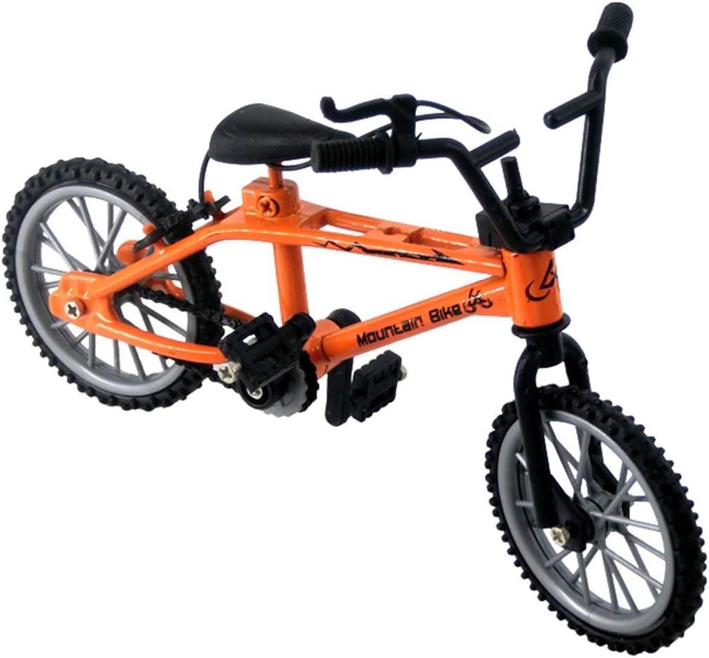 MXECO Bicicletas y Accesorios para niños Finger BMX Alloy Model Mini Bike Retro Double Rod Toys Niños Regalos (Naranja): Amazon.es: Deportes y aire libre