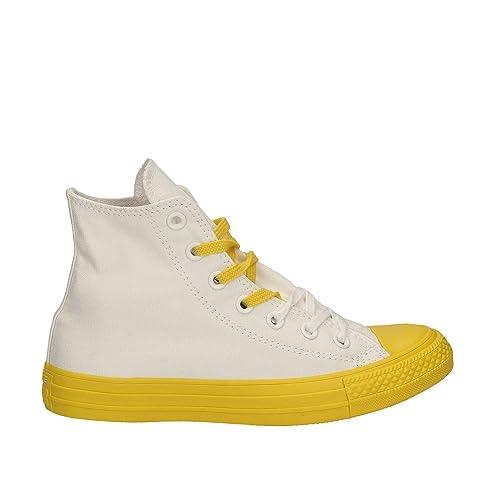 Zapatillas Converse All Star Hi Top (Fresh Yellow): MainApps: Amazon.es: Zapatos y complementos