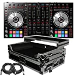 Pioneer Pro DJ DDJ-SX2 DJ Controller - Free ProX XS-DDJSX-WLT Case with laptop Shelf and XLR Cables, Software included by Pioneer Pro DJ