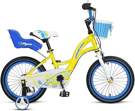 SGMYMX Bicicleta para niños Bicicleta for niños Bicicleta de niño niña de 3 a 8 años Bicicleta Escolar Bicicleta de los niños: Amazon.es: Hogar
