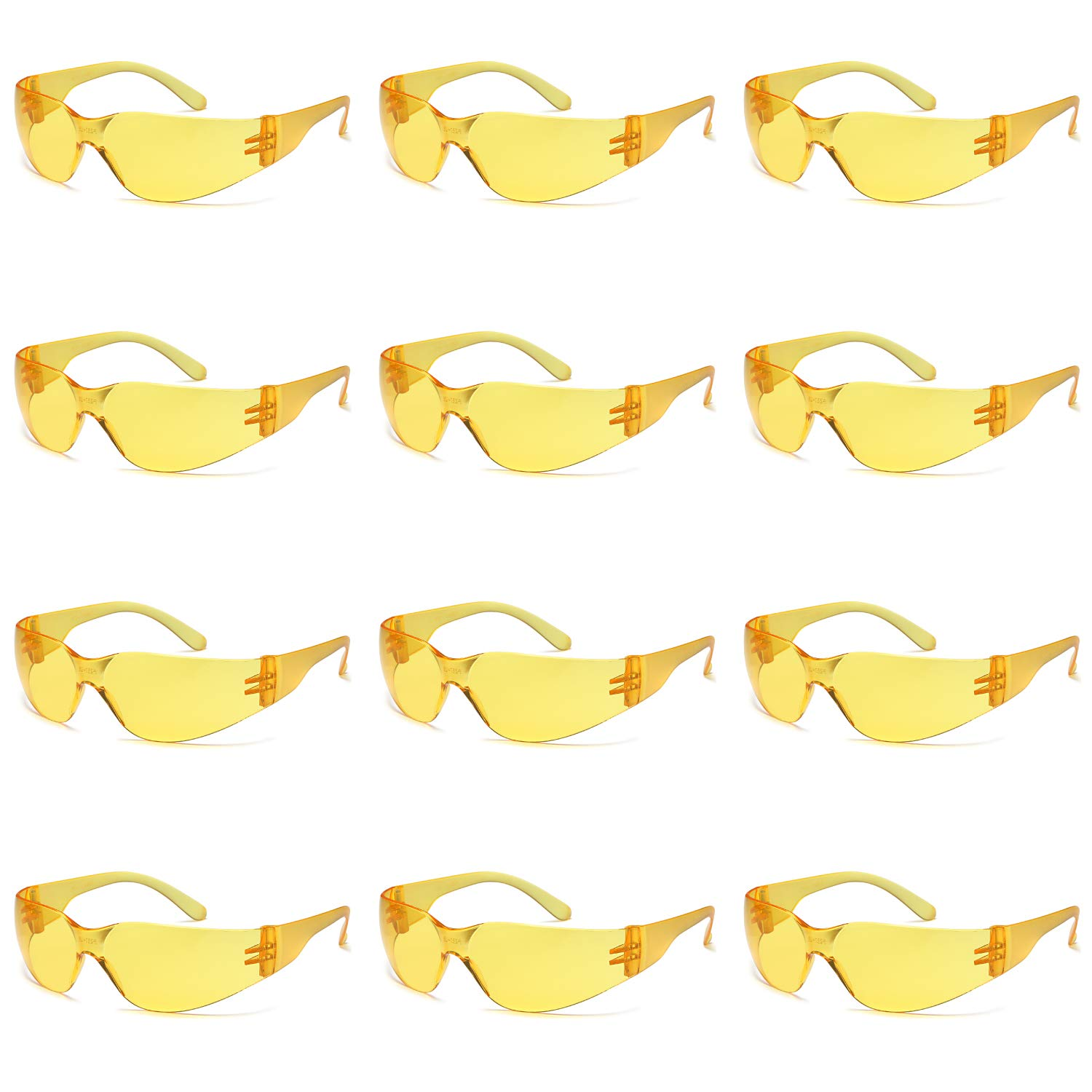Safety Shooting Glasses 12x Protective Eyewear