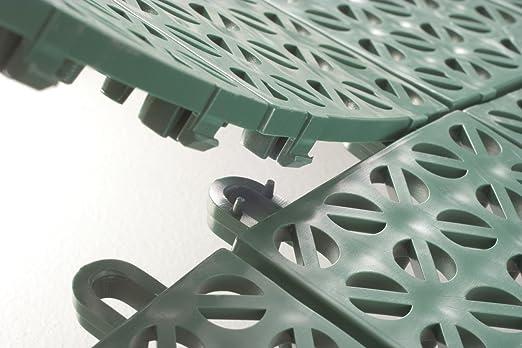 Multiplate mpve piastrella da esterno verde amazon