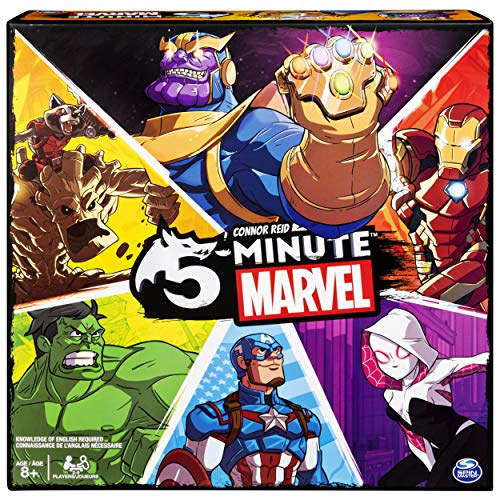 Spin Master Games 5 Minute Marvel Cooperative Card Game for Kids Aged 8 & Up ()