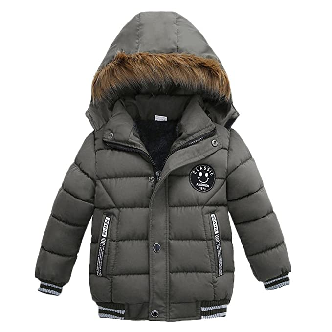 Amazon.com: Sagton - Abrigo para niños y niñas con capa ...