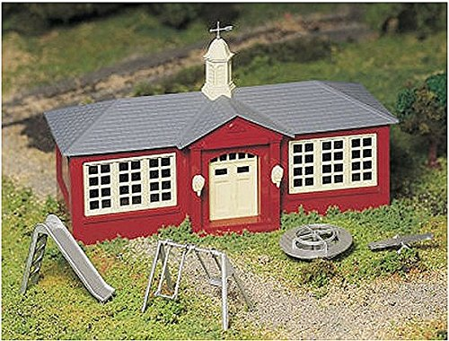 Used, Bachmann Trains School House with Playground Equipment for sale  Delivered anywhere in USA