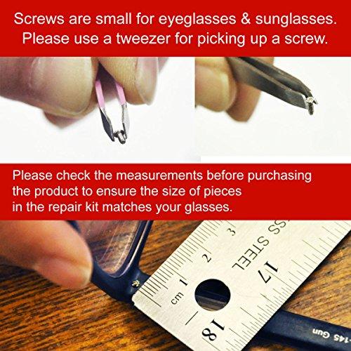 Universal Souvenir Glasses and Sunglasses Repair Kit, Black by UNIVERSAL SOUVENIR (Image #5)