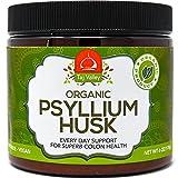 Organic Psyllium Husk Premium Powder – 40 Servings – Digestive Aid – 100% Natural and Made in the USA Review