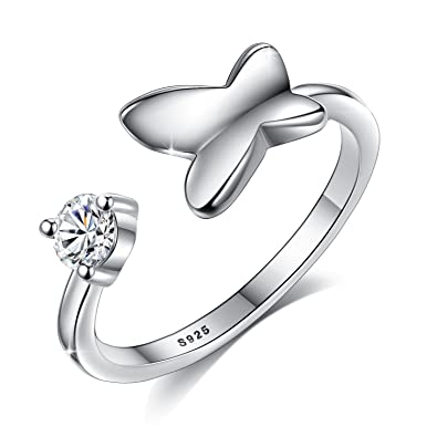 Fingerring  Fashmond Valentinstag Geschenke Symbol Schmetterling Fingerring ...
