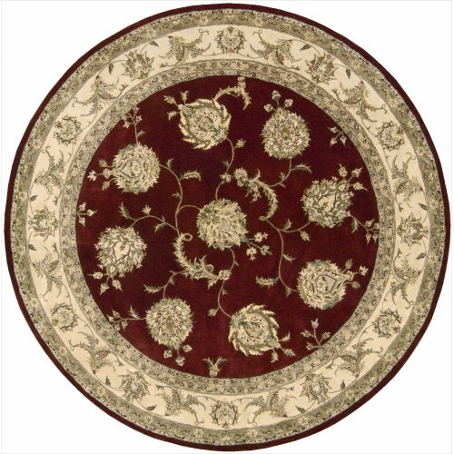 (Nourison 2000 (2022) Lacquer Round Area Rug, 8-Feet by 8-Feet (8' x 8') )