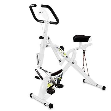 Bicicleta 2 en 1 BH double-fit YF94. Bicicleta estática plegable. Ejercicio abdominales. Tecnovita by BH: Amazon.es: Deportes y aire libre