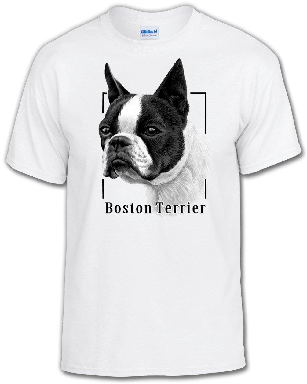 【新品、本物、当店在庫だから安心】 Dog Lover Lover Tシャツ:ボストンテリア Adult Adult XXX-Large ホワイト ホワイト B01DCHI95U, アイエールショップ:51cb836d --- a0267596.xsph.ru