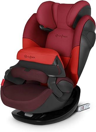 Comprar Cybex Silver Pallas M-Fix 519001089 Silla de Coche Grupo 1/2/3, 2 en 1 para Niños, para Coches con y sin Isofix, Colección Color 2019, Rojo (Rumba Red)