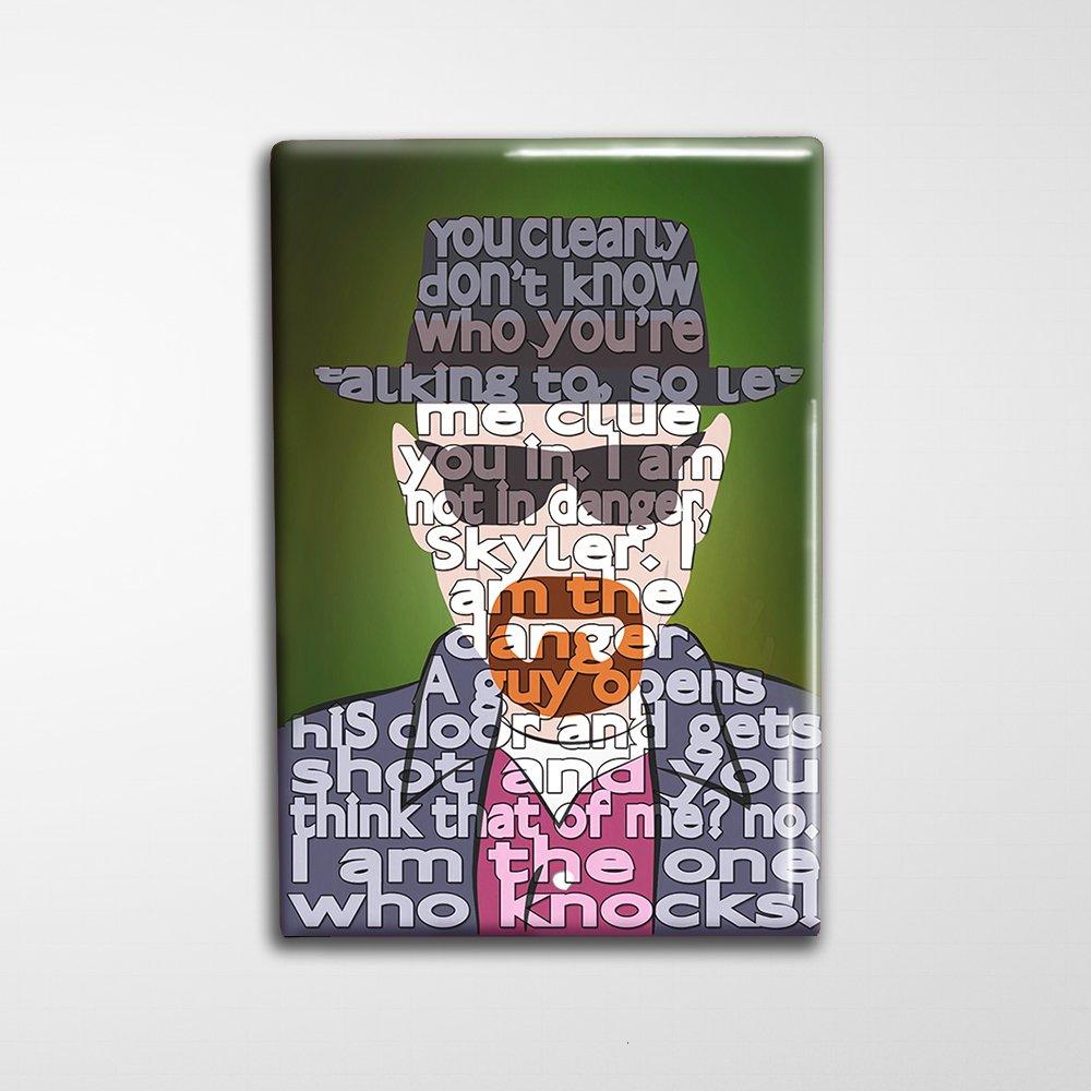 Breaking Bad Decorative Art Magnet 2x3