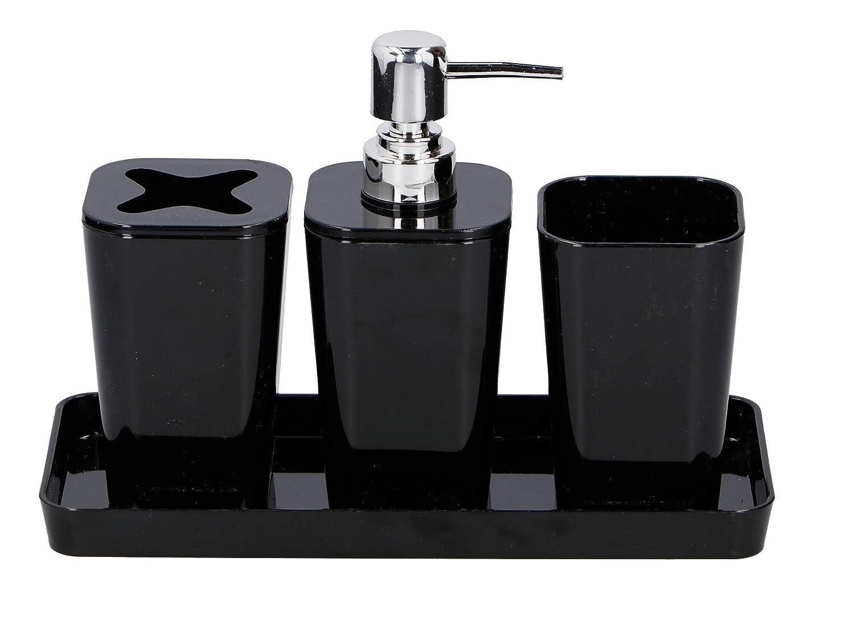 Urbandesign Bad Accessoire Set 4 Teilig Badezimmer Seifenspender