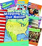 US Symbols Map Government 7-Book Set (Social Studies Readers)