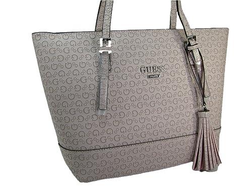 bbd0437d7dfd New Guess G Embossed Logo Purse Satchel Hand Bag Decimals Blush Pink Tote  Tassel  Amazon.ca  Shoes   Handbags