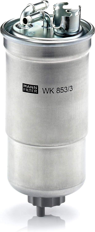 MANN-FILTER WK 853/3 X, Set de Filtro de combustible, juego de juntas para automóviles