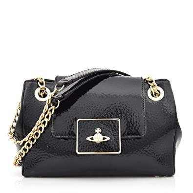 af008b687a7 Vivienne Westwood Apollo 13498 Small Bag with Flap Black: Amazon.co.uk:  Shoes & Bags