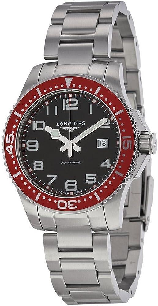 Longines HydroConquest del Relojes Hombres Reloj (Negro)