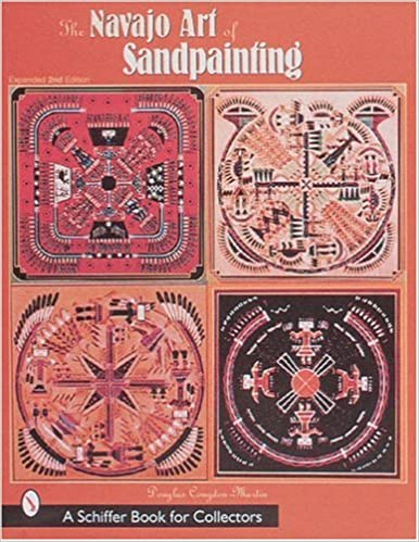 The Navajo Art Of Sandpainting Douglas Congdon Martin