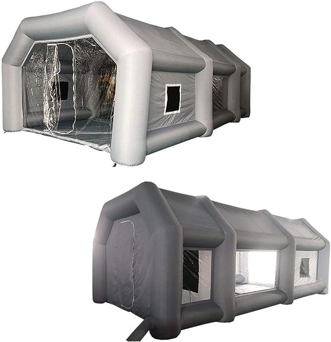 ZYJFP Carpa Bomba De Pintura Inflable,Cabina De Estacionamiento De ...