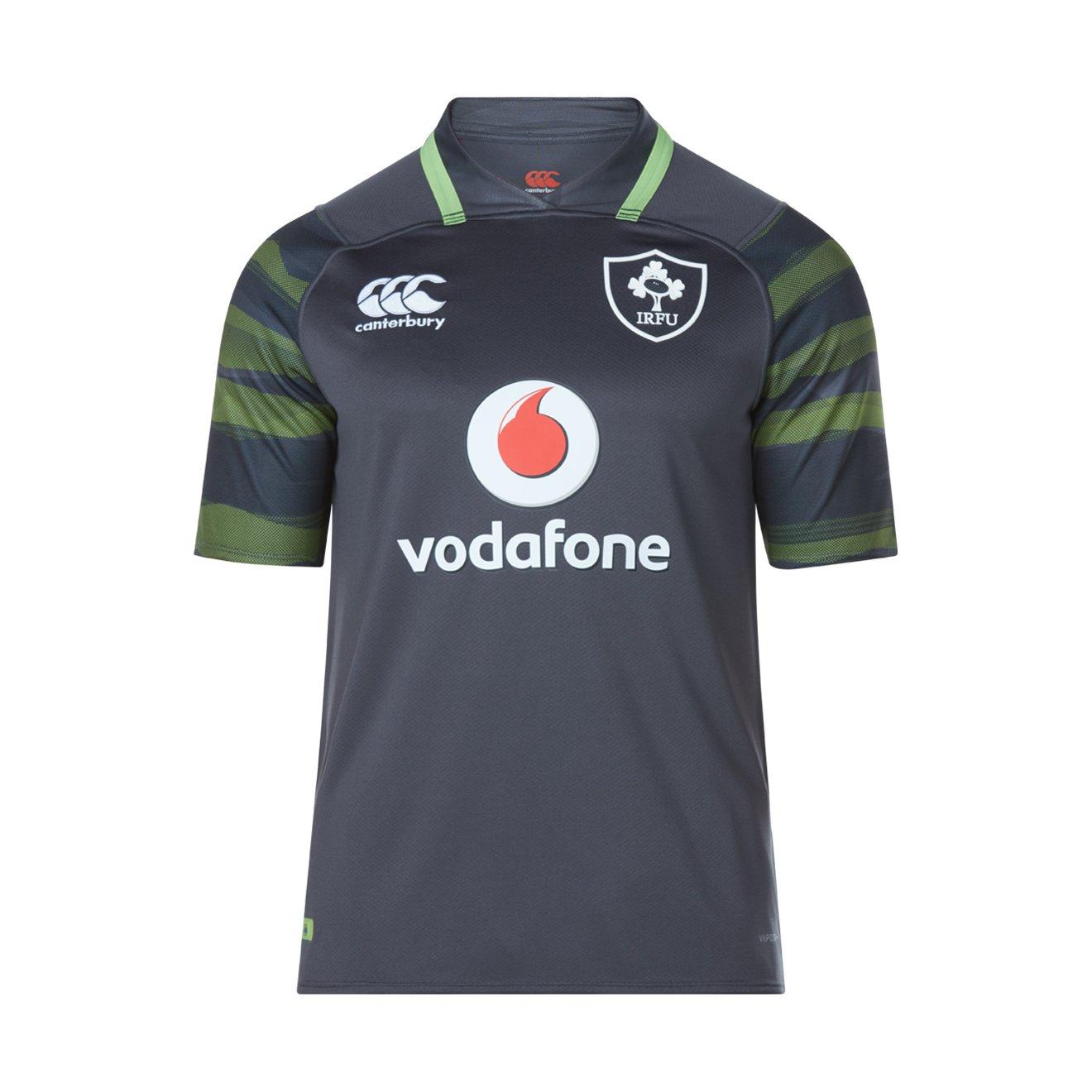 2017-2018 Ireland Vapordri Alternate Pro Rugby Shirt Canterbury