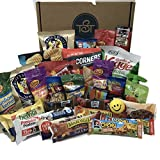 Healthy Snacks Care Package Fitness Variety Pack Assortment (30 Count) Healthier Choices Snack Pack popular with College students & Coworkers, Diet foods, with a few Gluten Free options