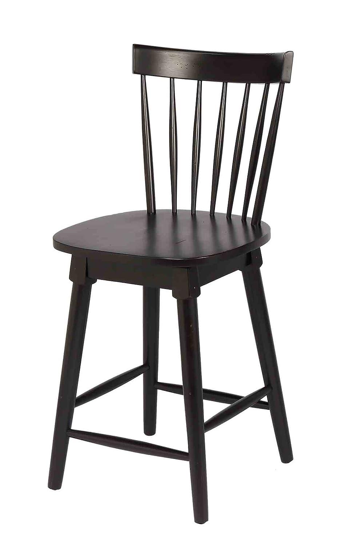 Stupendous Amazon Com Elise Counter Height Swivel Stool Black Bralicious Painted Fabric Chair Ideas Braliciousco