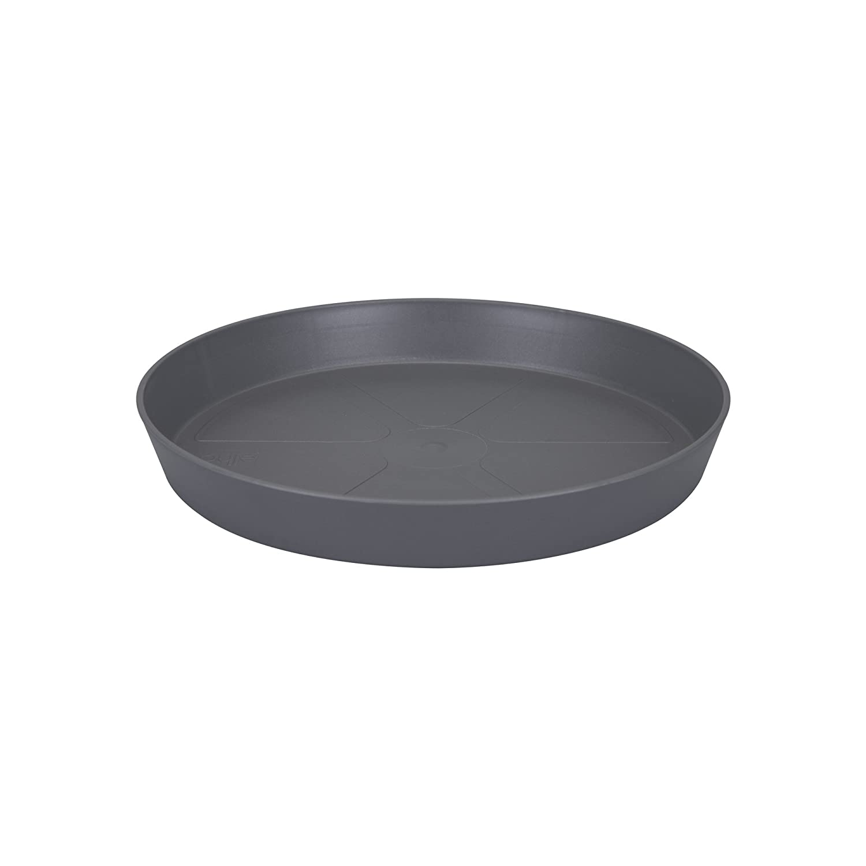 Elho Loft Urban Round Saucer 28cm - Anthracite 9227703742500