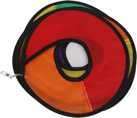Pixnor Spirale girandola a vento Arcobaleno tenda giardino all aperto/ /Prato decorazione Nylon Multicolore