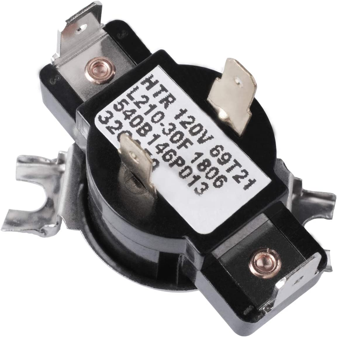Gekufa WE4M181 Dryer Cycling Thermostat Compatible with GE, Hotpoint, Kenmore - Replaces AP2044414, PS267926