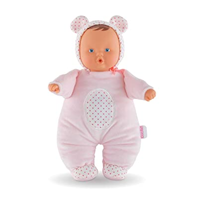 Corolle Mon Doudou Babibear 2-in-1 Musical Baby Doll & Nightlight: Toys & Games