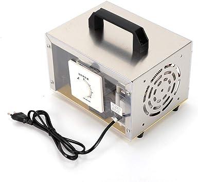 SENDERPICK 2.000mg/h. Generador de ozono comercial, desinfectante de ozono, purificador de aire, esterilizador con interruptor de tiempo para habitaciones, humo ...